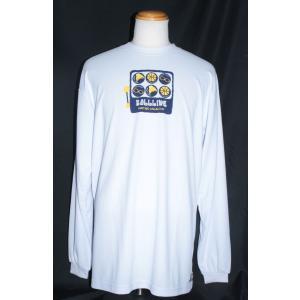 BALLLINE  ロングスリーブTシャツ 【BT6659】WHITE (2XL)|tipoff