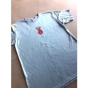 BULL-K 高畠佳介Tシャツ【BULLKT0920LTB】ライトブルー COTTON100% tipoff