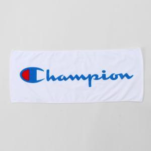 CHAMPION プリントフェイスタオル 【C3-NB710A】WHITE|tipoff