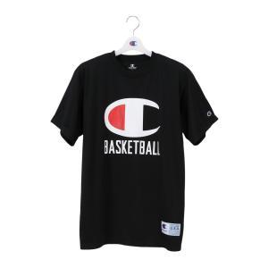 CHAMPION Tシャツ【C3-PB356】ブラック|tipoff