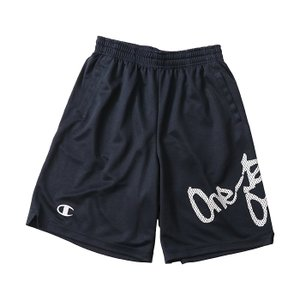 CHAMPION MINI PRACTICE PANTS【CK-HB502】NAVY×SILVER|tipoff