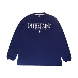 IN THE PAINT ロングスリーブ  DIV I【ITP16504】NAVY|tipoff