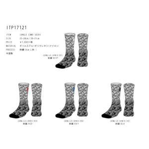 INTHE PAINT ソックス 【ITP17121】 JUNGLE CAMO SOCKS|tipoff