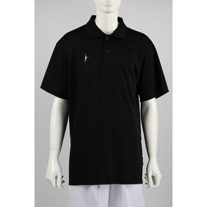 IN THE PAINT COLOR POLO SHIRTS【ITP18335】BLK tipoff