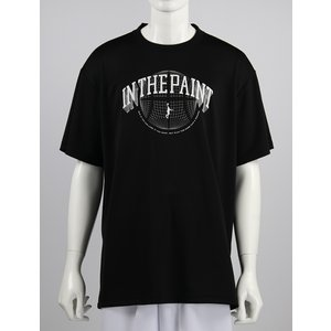 IN THE PAINT Tシャツ 【ITP19301】BLACK tipoff