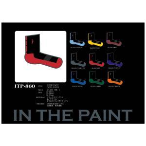 INTHE PAINT ソックス 【ITP860】|tipoff