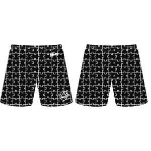 KONNY オリジナル PUZZLE SHORTS【KO2021SHPZLBK】BLACK|tipoff
