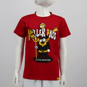 Little Monsters Tシャツ 【LM19208】RED|tipoff