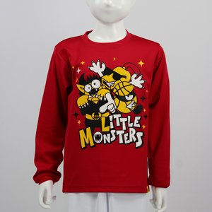 Little Monsters ロングTシャツ 【LM19211】RED|tipoff