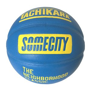 TACHIKARA SOMECITY OFFICIAL GAME BALL【SB7-108】Blue / Yellow|tipoff