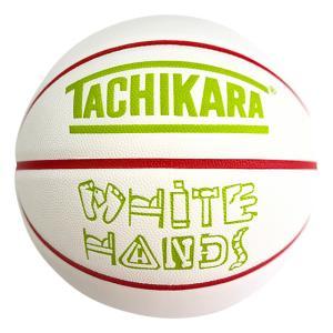 TACHIKARA WHITE HANDS -DISTRICT-【SB7-249】White / Red / Lime Green|tipoff
