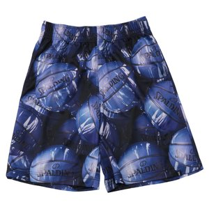 SPALDING PRACTICE PANTS MARBLE BALL【SMP191220】BLUE|tipoff