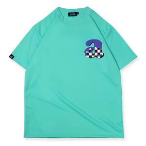 Arch team arch checker tee  [DRY]【T119-109】mint green|tipoff