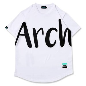 Arch big typo tee【T121-107】white|tipoff