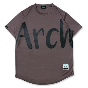 Arch big typo tee【T121-109】charcoal|tipoff