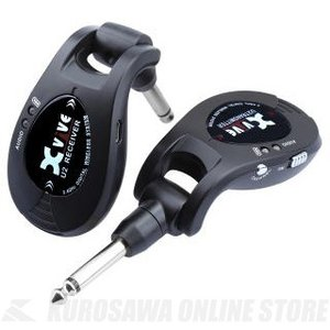 Xvive Guitar Wireless System XV-U2/BK《ギターワイヤレスシステム 》【送料無料】