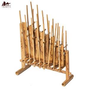 アンクルン / 木琴 バリ 民族楽器 竹 インドネシア アジア エス レビューでタイカレープレゼント|tirakita-shop