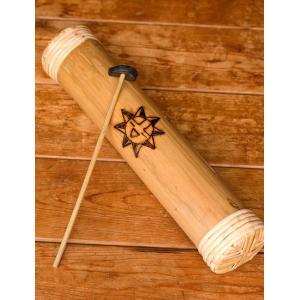 竹のタンドラム / パーカッション スリットドラム タンドラムバリ 打楽器 コロン レビューでタイカレープレゼント|tirakita-shop