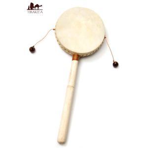 インドネシアのでんでん太鼓【中】 / でんでん太鼓、バリ 打楽器、打楽器、民族楽器  民族楽器 【イ...