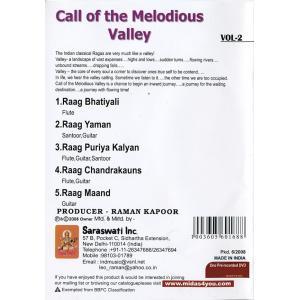 Call of the Melodious Valley Vol. 2 / 映画 dvd民族楽器 インド アジア エスニック バンスリ 古典音楽 2008 インド映画 tirakita-shop