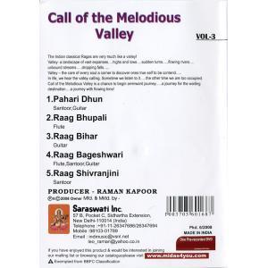 Call of the Melodious Valley Vol. 3 / 映画 dvd民族楽器 インド アジア エスニック バンスリ 古典音楽 2008 インド映画 tirakita-shop
