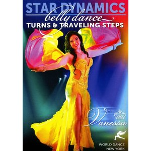 World Dance New York Star Dynamics Belly Turns and Traveling Steps with
