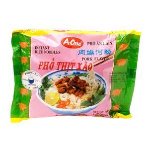 ベトナム・フォー (袋) 【A-One】 ポーク味 / ベトナム料理、フォー、インスタント麺 A-O...