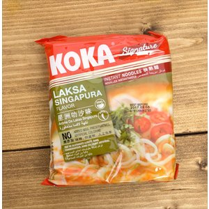 ラクサヌードル シンガポール風 Laksa Singapura Flavour (KOKA) / ラクサエスニック アジア インド 食品 食材 ココナッツ
