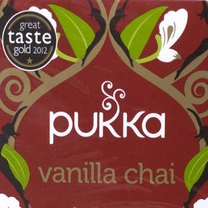 【PUKKA】 vanilla chai - オーガニックハーブティー(カフェインフリー)  / ハ...