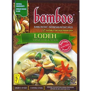 インドネシア料理 ロデの素 LODEH (bamboe) / スープエスニック アジア 食品 食材 バリ ナシゴレン 料理の素 ハラル