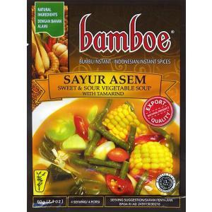 インドネシア料理 サユールアッサムの素 SAYUR ASEM (bamboe) / 調味料エスニック アジア 食品 食材 バリ ナシゴレン 料理の素