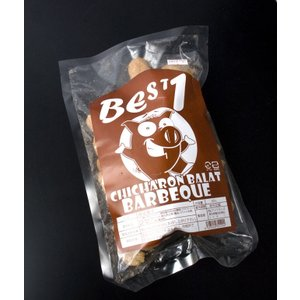 チチャロン スナック 豚皮の唐揚げ バーベキュー味 Chicharon Barbeque (Best1) / フィリピン お土産