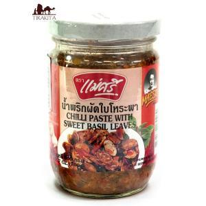 スイートバジル チリペースト チリペースト瓶スウィートバジル味 200g タイ 食品 食材 アジアン...