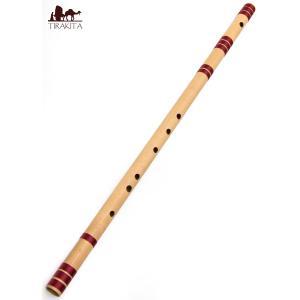 高品質コンサート用バンスリ(BASS D管) / 民族楽器 インド アジア エスニック Bansli 管楽器 tirakita-shop