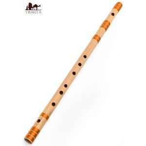 高品質コンサート用バンスリ(BASS G#管) / 民族楽器 インド アジア エスニック Bansli 管楽器 tirakita-shop