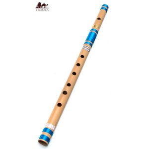 バンスリ(BASS A管) / レビューで300円クーポン進呈 フルート 楽器民族楽器 インド アジア エスニック Bansli 管楽器 tirakita-shop