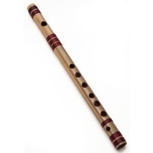 高品質コンサート用バンスリ(G#管) / レビューで300円クーポン進呈 民族楽器 インド アジア エスニック Bansli 管楽器 tirakita-shop