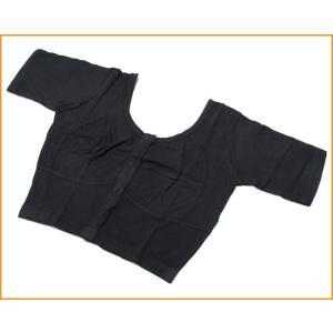 前開きコットンストレッチチョリ ブラック / ベリーダンス CD DVD 衣装 スカート パンツ