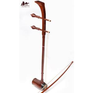 タイ民族楽器 ソー・ドゥアン Saw duang / レビューで300円クーポン進呈 インド アジア エスニック サーランギ 擦弦楽器|tirakita-shop