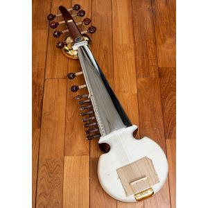 (Kanai lal&Sons社製)サロード / 民族楽器 インド アジア エスニック 弦楽器|tirakita-shop