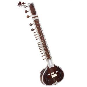 シタール+グラスファイバーケース / 楽器民族楽器 インド アジア エスニック Sitar 弦楽器|tirakita-shop