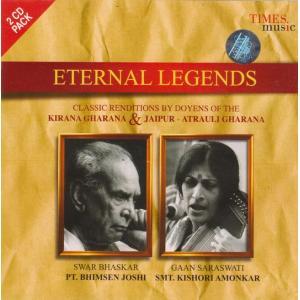 Eternal Legends Pt.Bhimsen Joshi Smt.Kishori Amonkar / cd インド音楽 CD 民 レビューでタイカレープレゼント