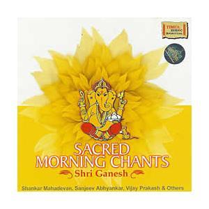 SACRED MORNING CHANTS Shri Ganesh / cd インド音楽 CD マントラ 神様 瞑想 レビューでタイカレープレゼント