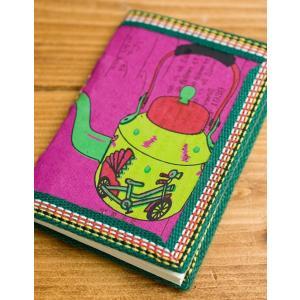 メモ帳 ノート 神様 〈12.8cm×8.5cm〉インドの神様柄紙メモ帳 やかん ロクタ ネパール エスニック アジア 雑貨|tirakita-shop|03