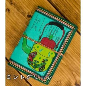 メモ帳 ノート 神様 〈12.8cm×8.5cm〉インドの神様柄紙メモ帳 やかん ロクタ ネパール エスニック アジア 雑貨|tirakita-shop|09
