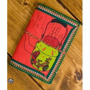 メモ帳 ノート 神様 〈12.8cm×8.5cm〉インドの神様柄紙メモ帳 やかん ロクタ ネパール エスニック アジア 雑貨|tirakita-shop|10