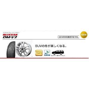 ブリヂストン ブリザック DM-V2 175/80R15とマッドクリフ 4本セット tire-access