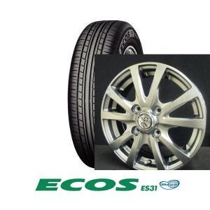 ヨコハマ ECOS(エコス) ES31 155/65R14とTRG-BAHN 4本セット|tire-access