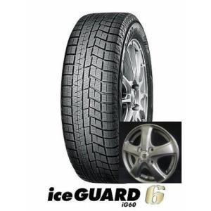 ヨコハマ スタッドレス  iceGUARD 6(アイスガードシックス)iG60 155/65R13とSEIN-CF 4本セット|tire-access