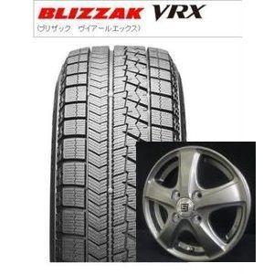 2017年製造 ブリヂストン スタッドレス ブリザック VRX 155/65R13とSEIN-CF 4本セット|tire-access